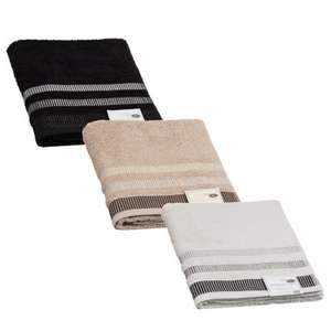 Large Oversized 100% Cotton  Bath Sheet (Black/Grey/Taupe) £1 @ B&M In store deal.