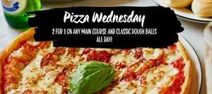 Today only - BOGOF on ALL main courses and doughballs plus possible extra 20% off @ Pizza Express