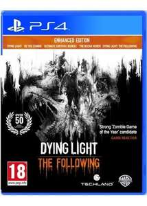Dying light the following enhanced edition ps4 £12.69 @ base