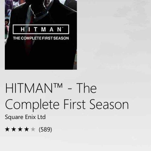 Hitman: The Complete First Season - Xbox One - £22.50 @ Microsoft Store