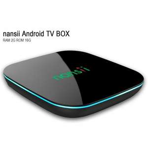 Nansii Q Android 5.1 Smart TV BOX Amlogic S905 2GB/16GB 4K HD Quad-core 2.4G +5G - £39.99 Sold by NANSII and Fulfilled by Amazon