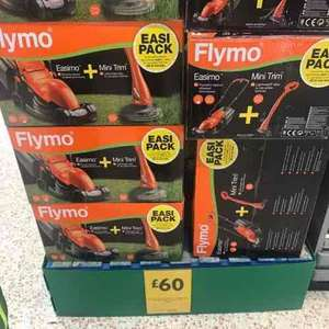 Flymo Easimo 900W Electric Lawn Mower & Mini Grass Trimmer Twin Set - £60 instore @ Morrisons