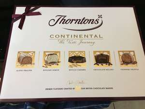 Thorntons continental chocolates £2.25 @ Tesco instore