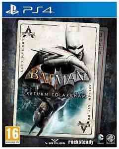 Batman return to arkham (PS4) £14.85 @ ebay via boss deals