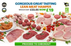 Lean meat hamper £19 (SAVE £14.85!) @ MuscleFood minimum order £24.99 + £4.95 delivery