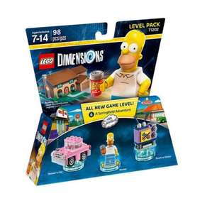 Lego dimensions simpsons level pack £13.49 (Prime) / £15.48 (non Prime) Sold by Best Deals Direct and Fulfilled by Amazon.