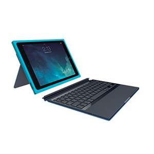 Logitech BLOK Protective Keyboard Case for iPad Air 2 - Teal/Blue £19.99 (Prime) / £24.74 (non Prime) Sold by Trusted-Goods and Fulfilled by Amazon