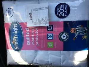 Silentnight Single Quilted Mattress Protector - £2.50 - Tesco Elgin