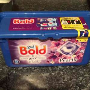 bold 2in1  reduced to clear for £2.50 for 29 washes  at Asda