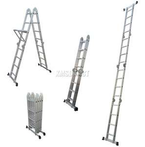 4.75M Multi Purpose Aluminium Extension Ladder - £44.90 Ebay kmsdirectshops