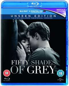 Fifty Shades of Grey - The Unseen Edition (with Digital Copy) [Blu-ray] £2.69 including free delivery using code SIGNUP10 @ zoom.co.uk