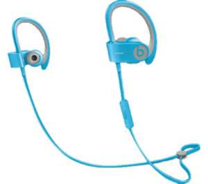 powerbeats2 wireless Bluetooth  headphones light blue £63.97 @ Currys