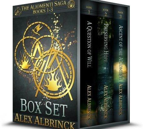 The Aliomenti Saga Box Set (Books 1-3) Kindle Edition @ Amazon
