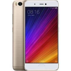 Xiaomi Mi 5s Mi5s 5.15 inch Fingerprint 3GB RAM 64GB ROM Snapdragon 821 Quad Core 4G Smartphone GOLD from Bangood @ £214.27 with discount code