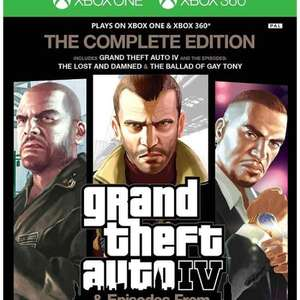 GTA IV Complete Edition (Xbox 360/Xbox One) £12 prime / £13.99 non prime Amazon (Temporarily out of stock)