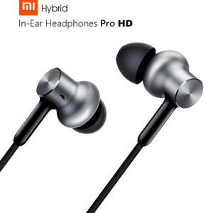 Xiaomi In-ear Hybrid Pro Earphones With Triple Drivers ( 2 Dynamic Drivers + 1 Balanced Armature ) £18.35 @ Gearbest
