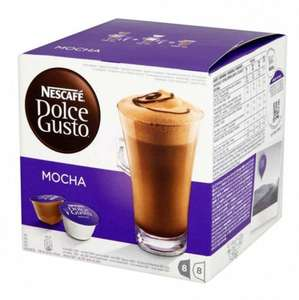 Nescafe Dolce Gusto coffee pods £3.49 @ Poundstretcher