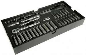 "Halfords Advanced Modular Tray Set - 44 Piece Socket Set 1/4"" - £25 (Free C&C)"