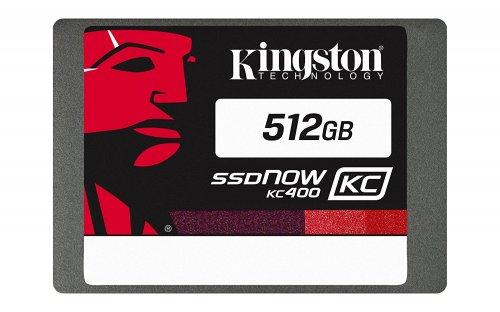 Kingston SSDNow KC400 512 GB SATA 3 Internal Solid State Drive @ Amazon for £86.71