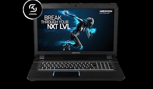 Erazer X7841 Gaming Laptop - i7 6700HQ, GTX 970M, 16 GB RAM, 256 SSD £1019 @ Medion