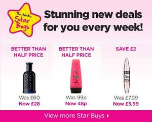 sure body spray 97p @ superdrug