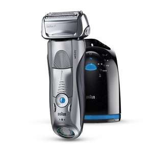Braun Series 7 790cc-4 Men's Electric Foil Shaver with Clean and Charge Station Rechargeable and Cordless Razor £99.99 Amazon