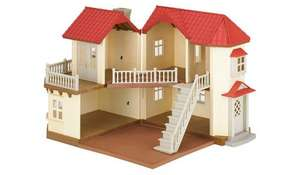 ASDA GEORGE Sylvanian Families BEECHWOOD HALL £44.97 SAVE £20