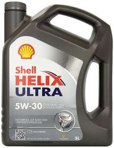 Shell Helix Ultra 5w30 engine oil 5l (30-5W30) £18.74 Amazon Prime Exclusive