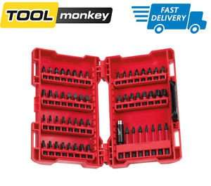 Milwaukee Shockwave Gen 2 56-piece Set, £14.99 Delivered ebay / toolmonkey-shop