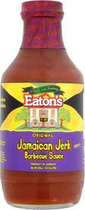 Eaton's Original Jamaican Jerk Barbecue Sauce 555g was £2.50 now £1.00 @ Sainsbury's