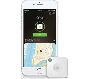 Tile Bluetooth Keyfinder 2nd Gen £9.97 @ Currys (Click and collect only)