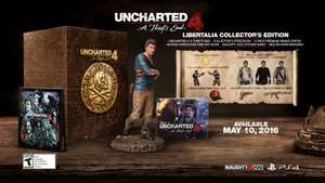 Uncharted 4: A Thief's End - Libertalia Collector's Edition Game for £44.99 using MVC10