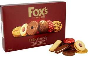 Fox's Fabulously Biscuit Selection (300g) was £4.00 now £2.00 @ Tesco