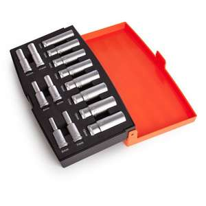 "Bahco 3/8"" Deep Socket Set, 14-piece £24 (free delivery over £25) at Toolstop"