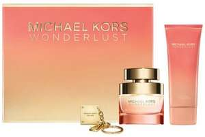 Michael kors wonderlust 50ml gift set £31.50 @ Escentual