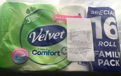 Velvet Comfort 16 pack instore @ £4 Morrisons