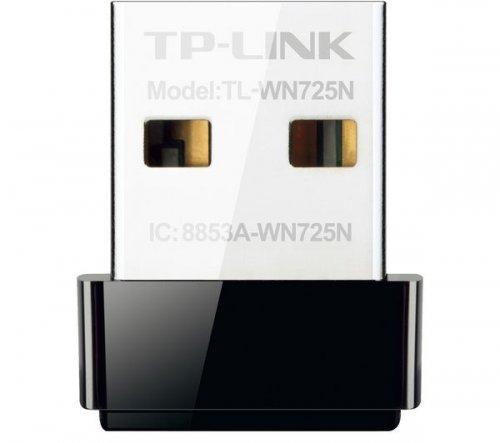 Single Band Wireless USB Adaptor - TP-LINK TL-WN725N £6.78 @ Currys