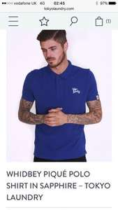 Men's Polo's delivered for £6.99 at Tokyo Laundry