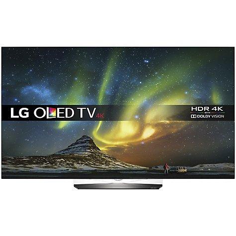 LG OLED55B6V OLED HDR 4K & LG SH7 Sound Bar + 1yr Free Sky Q via redemption £1699 @ John Lewis