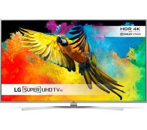"LG 49UH770V Smart 4k Ultra HD HDR 49"" LED TV  £549.98  Currys with code"