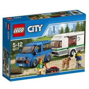 LEGO CITY Van & Caravan 60117 - Multi-Coloured £11 prime / £14.99 non prime @ Amazon