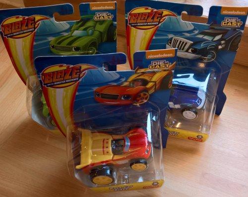 Blaze and the Monster Machines Diecast £3.75 @ Sainsbury's - Irvine