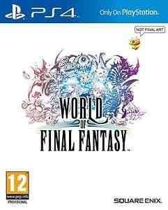 World of Final fantasy (PS4) £19.85 @ ebay via boss deals