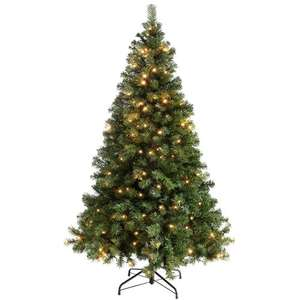 Cheap pre lit christmas tree £35.67 @ amazon.co.uk