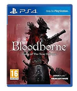 Bloodborne GOTY PS4 £19.80 (Prime) £21.79 @ Amazon  (lightning deal)