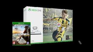 "Xbox One S 500GB + FIFA17 + Additional controller + ""Personalised Battery Hatch"" £219.99 (cashback available) @ Microsoft Store"