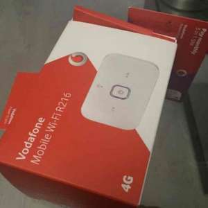 Vodafone 50GB Data Sim 4G one month rolling with or without mifi device £25pm @ Carphone Warehouse