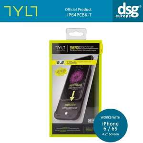 TYLT ENERGI Sliding 3200mAh Power Case BATTERY Charger Bank Apple iPhone 6 6s £29.99 @ dsg_outlet / Ebay