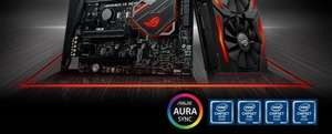 Asus motherboards (Intel chipsets) up to £40 cash back, and nvidia cards up to £50 back from Asus