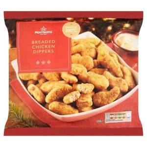 Morrisons Breaded Chicken Dippers 650g was £2.00 now 50p @ Morrisons Online & Instore